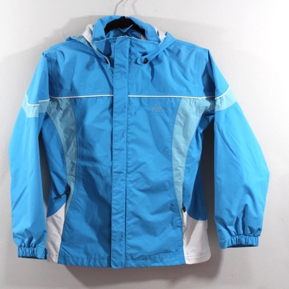 5f8030844b48a Nike ACG Outer Layer 3 Full Zip Hooded Jacket Blue